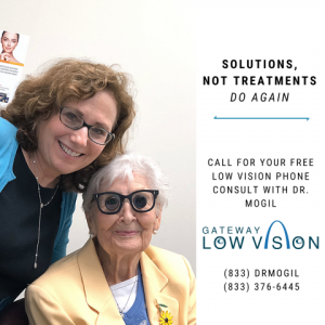 Saint Louis MO Optometrist Launches Low Vision/Macular Degeneration Solutions 1