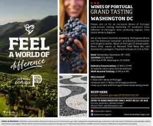 VINIPORTUGAL - Grand tasting event in Washington DC for the Wine Industry