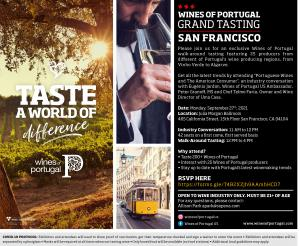 VINIPORTUGAL - Grand tasting event in San Francisco  for the Wine Industry