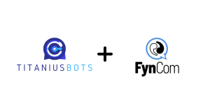 Titaniusbots + Fyncom Logo