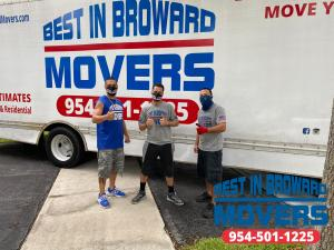 Best moving company in Fort Lauderdale - Best in Broward Movers 9545011225 Now hiring the best movers to join our team!