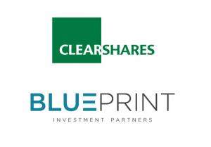 ClearShares & Blueprint Investment Partners logos