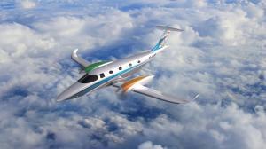 eFlyer 800 renderings with Air2E branding