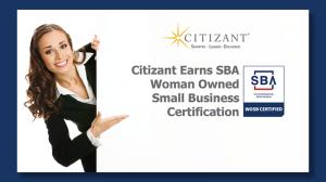 Citizant WOSB Certification Announcement