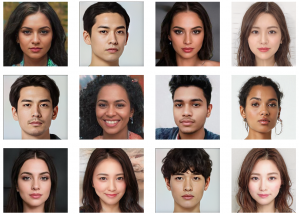Nikkei Innovation Lab and DATAGRID Inc. have worked together to develop a system that produces videos using AI-generated images of human beings. The system is based on AI-generated graphics depicting non-existent humans or real people. It gives users the