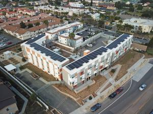 Sustainability is highlighted at San Ysidro Senior Village in San Diego, CA