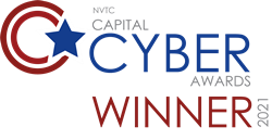 Intelligent Waves wins the 2021 NVTC Capital Cyber Awards for Cybersecurity Government Contractor of the Year