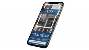 Image: The custom ECE network app screenshot