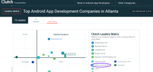 Top Android App developers in Atlanta