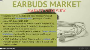 Earbuds Market Analysis & Growth Forecast 2023