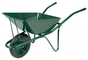 Steel wheelbarrows for industrial use