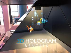 3D Hologram Rentals