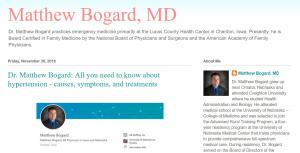 Blog of Dr Matt Bogard Iowa