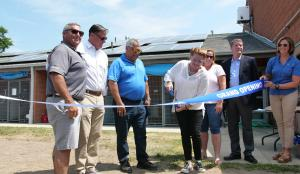 The Solar Installation Ribbon Cutting at Southold Animal Shelter