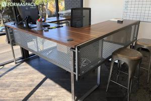 Custom l shape desk formaspace office