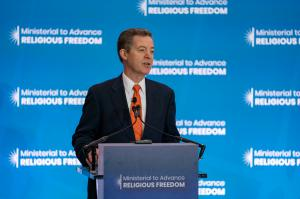 US Ambassador at Large for International Religious Freedom, Sam Brownback
