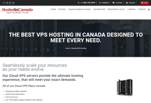 Canadian VPS Hosting in Canada