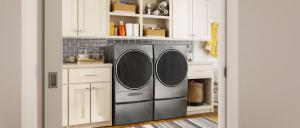 2019 Labor Day Sale: Whirlpool Laundry Pair with Pedestals in Grey