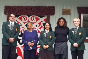 Marae's are Maori community centers.