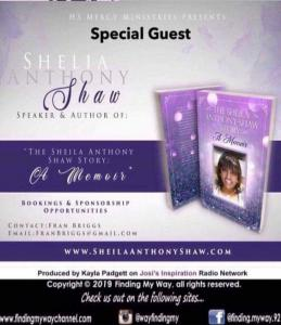 Sheila Anthony Shaw Sept. Interview