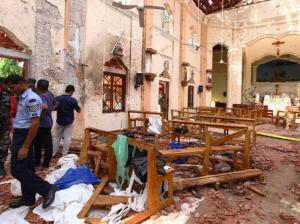The Easter Sunday Sri Lanka terrorist attacks were an act of violence that left the country reeling.