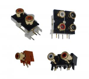 RDI RH Series RCA Style Connectors
