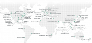 Image of Cato's Global Network Map