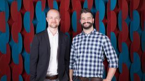 L-R: Assemblo's directors James McInerney and Steve de Niese.
